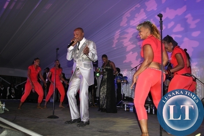 KOFFI OLOMIDE PERFORMING AT BONA AND SIMBA'S WEDDING