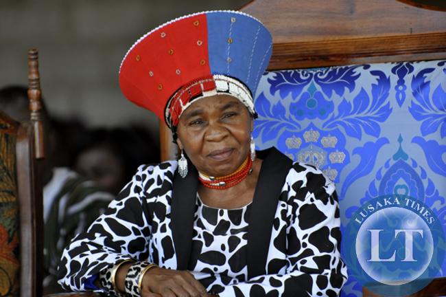 Chieftainess Nkomeshya