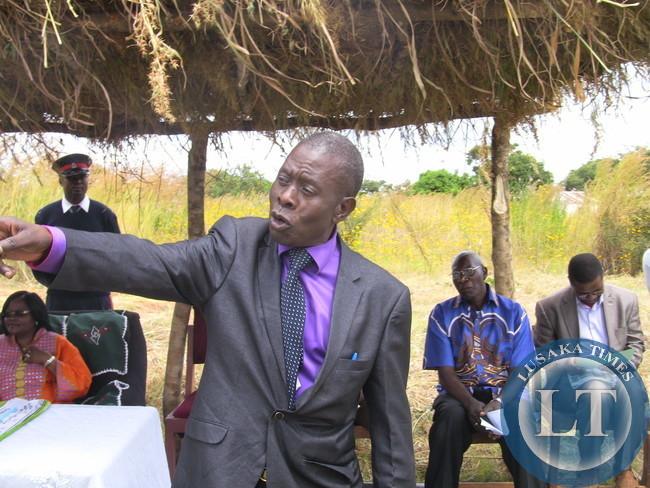 Mkushi DC Luka Mwamba