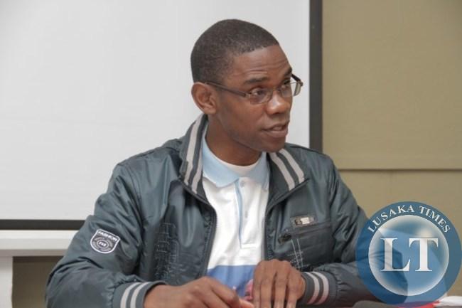 Zambian Voice Executive Director Chilufya Tayali