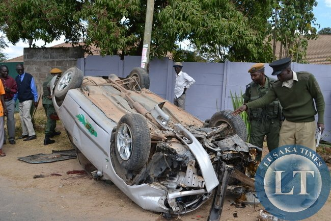 Zambia : Road traffic accidents double in last six years