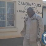 Jonas Shakafuswa on his way to court