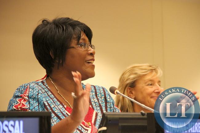 Former First Lady Dr Christine Kaseba