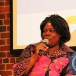 Minister of Tourism and Arts Jean Kapata speaking at a panel discussion on Investment and Tourism in Africa on 8 Sept 2014 in New York. PHOTO   Chibaula D. Silwamba   Zambia UN Mission