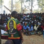UPND meetings in Vubwi Constituency by-election campaigns in Eastern province,