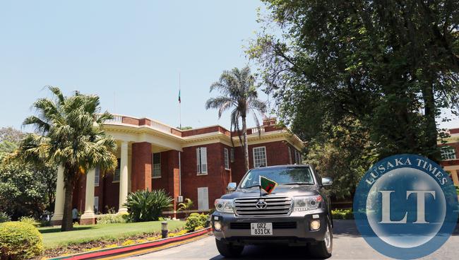 Acting President  Dr Scott leaves Statehouse 1667
