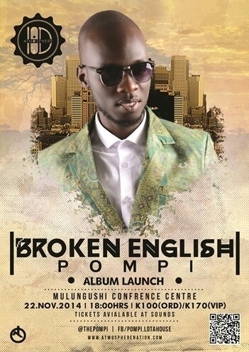 "Pompi ""Broken English"" Album launch"