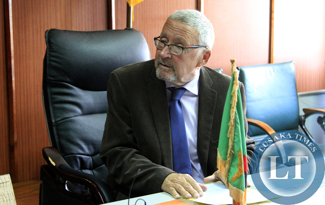 Dr Guy Scott Acting President of Zambia