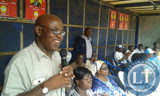 Jack Kalala, former special assistant to President Mwanawasa