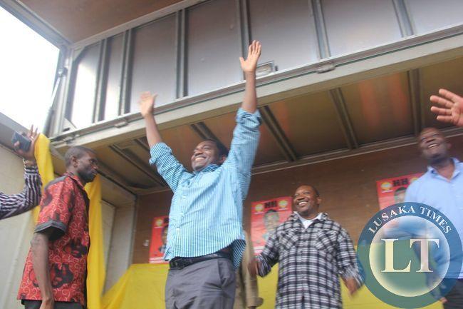 HH at Ndola Rally