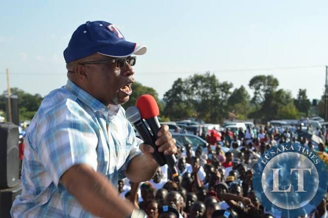 Zambia : Nevers Mumba's full speech at Kitwe Rally