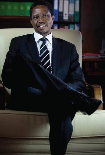 President-Elect Edgar Chagwa Lungu