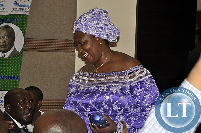 Petauke MP Dora Siliya