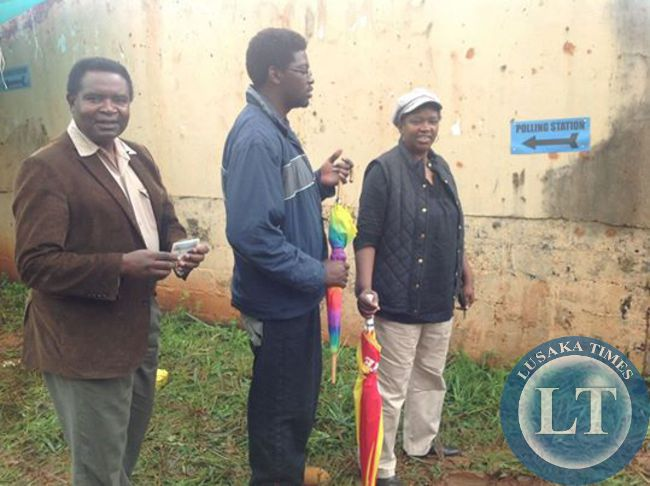 Gen Miyanda and family go out to vote