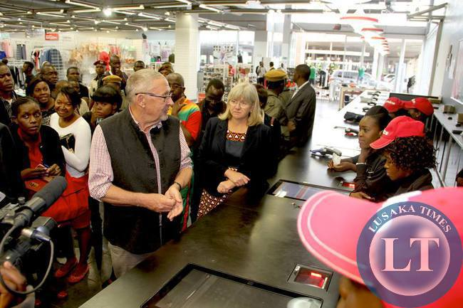 Guy Scott inside Mr Price store 2