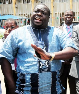 Sports and Youth Minister Chishimba Kambwili