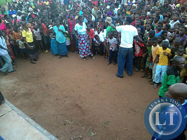 MMD Chipata rally