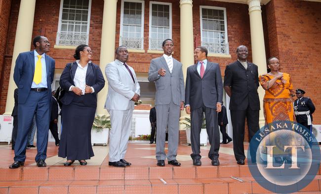President Lungu with President Kikwete