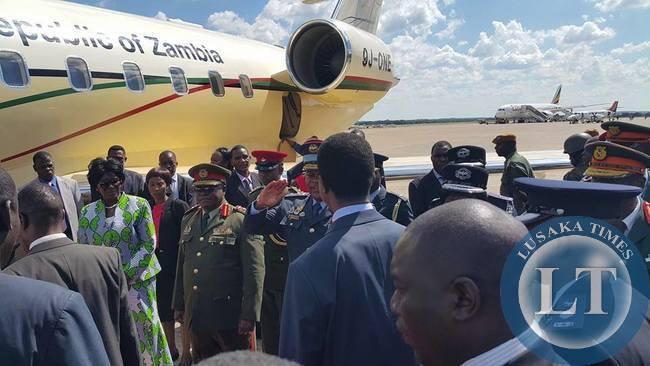 Lungu-Airport