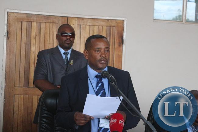 Zesco Managing  Director Victor Mundende