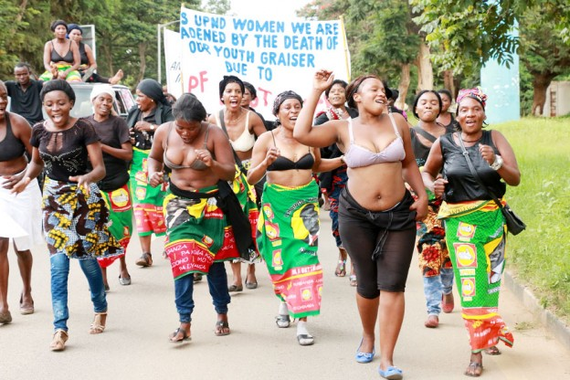 nude women of zambia