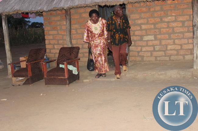 Edith Nawakwi in Namwala