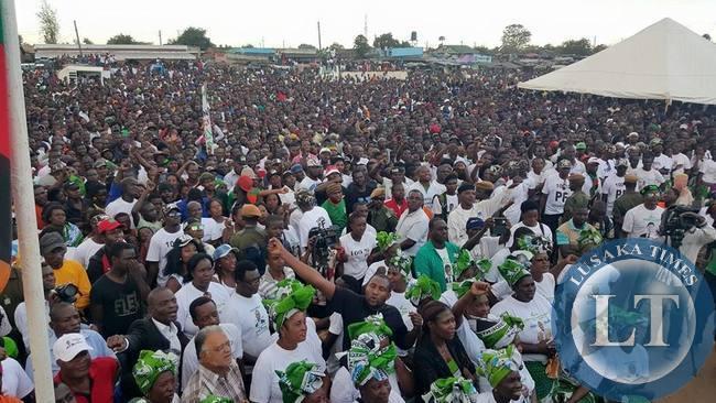 PF Chawama rally