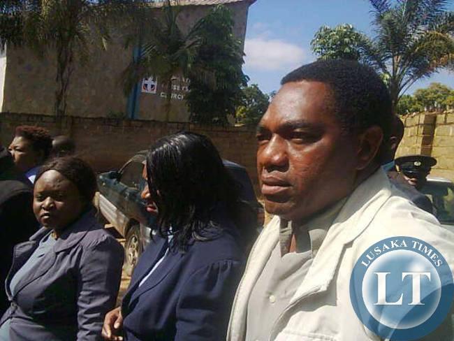 Opp. leader pleads not guilty of treason