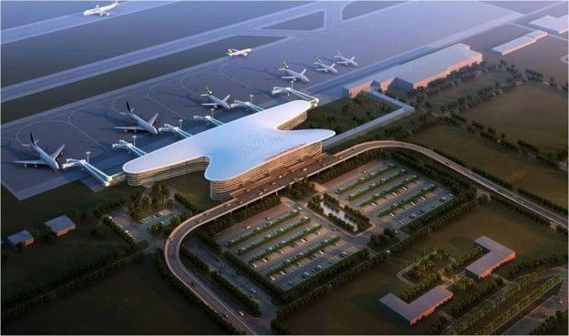 KKIA Airport artists impression