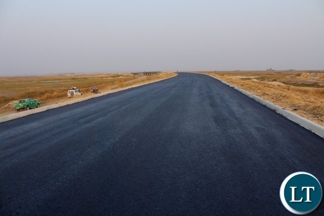 The Mongu-Kalabo Road Project total work progress has reached 80% and is scheduled to complete in April 2016.