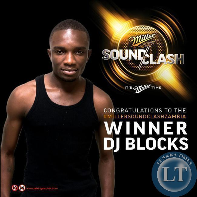 Miller Soundclash winner DJ Blocks