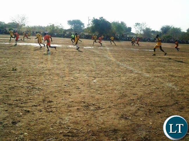 Kavulamungu Bargain Centre sports tournament