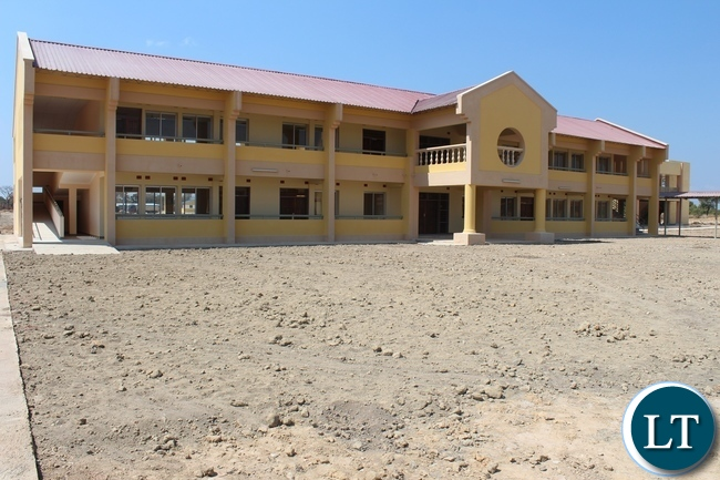 Robert Makasa University completed Lectures room