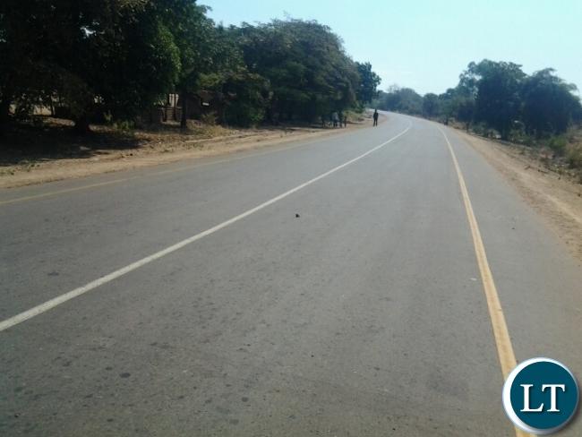 Mfuwe road 2
