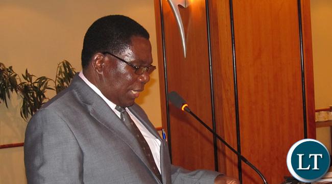 Permanent secretary Chishimba Nkosha