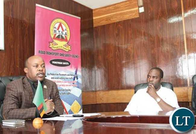 RTSA chief executive officer Zindaba Soko