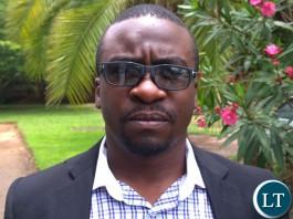 Lengwe Bwalya MMD National Youth Treasurer