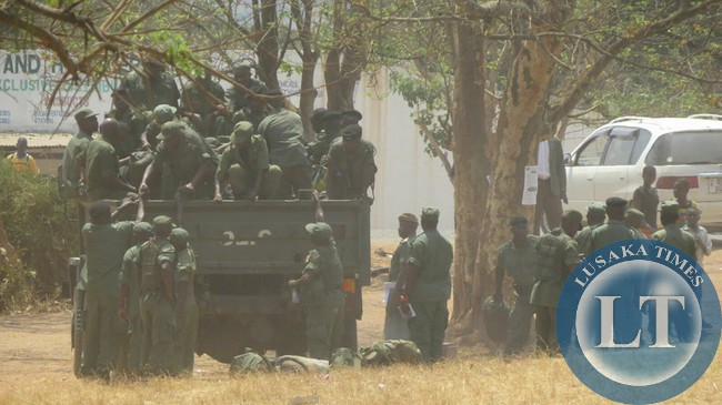 Police deployed in Solwezi