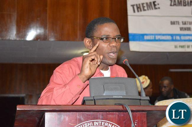 CHILUFYA TAYALI Executive Director The Zambian Voice