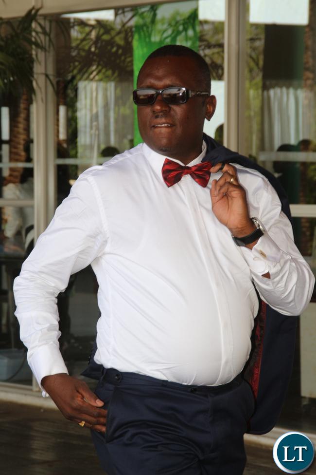 Mazabuka Central Garry Nkombo.