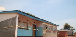 -Lumwana mining company recently constructed three teachers' houses at Mwajimambwe school in Kalumbila at a total cost of K357,000. Above, two of the three houses at the learning institution during the handover ceremony to government by the mining firm