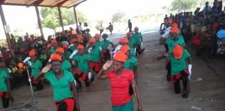 Children Celebrating independence in Livingstone