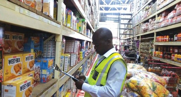 Zambia Bureau of Standards Agent Inspecting imported Products