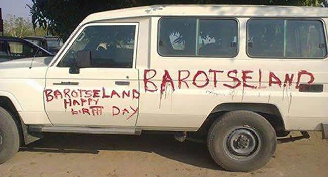 Graffiti drawn on a government car by a man who was later arrested and allegedly brutally beaten by police