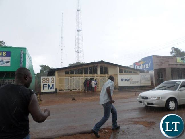 how to start a radios station in zambia