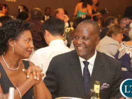 Lunte MMD member of Parliament Felix Mutati at the Diplomatic Club Gala dinner at InterContinental Hotel in Lusaka on Friday, November 13,2015 -Picture by THOMAS NSAMA