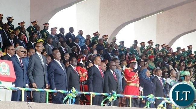 HEADS OF STATE AT THE INUAGURATION
