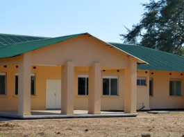 The people of Namwala in Southern Province, have hailed Government for completing the construction of phase-one district hospital in the area, which is yet to be commissioned. Above, is the front-view block housing a number of units such as the Out Patient Department (OPD) and the administrative offices