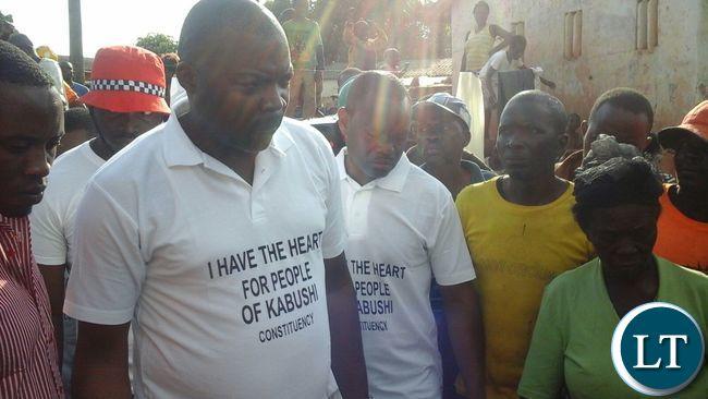 Bowman Lusambo in Kabushi