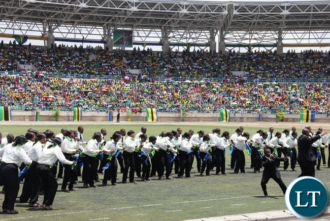 Some of the activities that characterized the Inauguration of Tanzanian president Dr John Pombe Magufuli at Uhuru stadium in Dar es salaam, Tanzania.